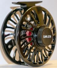 CLARK JC7/9 LARGE ARBOR, BAR STOCK, Saltwater/Freshwater Sealed FLY REEL