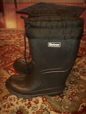 Lacrosse Insulated Snow Boots Rain Boots Black Size 2 Youth