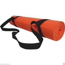 Ajustable Sling Carrier Shoulder Carry Strap Belt Canvas for 8/10/15mm Yoga Mat