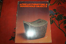 African Furniture and Household Objects by Roy Sieber (1980, Paperback)