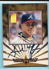 1997 Donruss Elite Passing the Torch Andruw Jones Autograph 23/1500