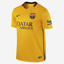 90$ NIKE FC BARCELONA STADIUM AWAY 2015/2016 658785-740  SIZE S NEW WHIT TAGS