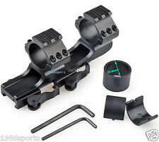 """New Release Scope Mount 1""""25mm/30mm Dual Ring Cantilever Heavy Duty Rail 20mm#45"""