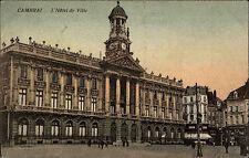 Cambrai Feldpostkarte 1915 Feldpost 45. Res.Div. nach Charlottenburg gelaufen