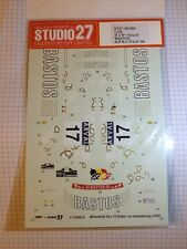 Studio27 1/24 Mitsubishi Lancer Evolution VI Bastos Rally 2000' for Tamiya