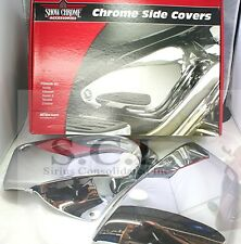 HONDA VT1100 VT 1100 SHADOW ACE SABRE CHROME SIDE COVERS 1998 - 2008