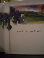 CASTELLI... NEL CUORE DEL VINO, 2002. Due Volumi con cofanetto.
