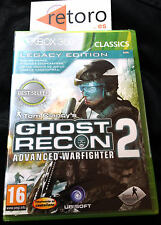 TOM CLANCY's GHOST RECON 2 ADVANCED WARFIGHTER XBOX 360 Nuevo Precintado NEW