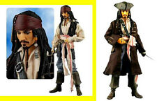 "Jack Sparrow Depp Pirates of the Caribbean Medicom 12"" Deluxe Action Figure ."