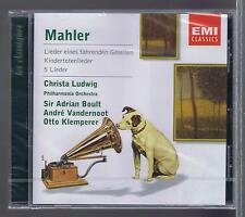 CHRISTA LUDWIG CD NEW MAHLER LIEDER PHILHARMONIA ORCHESTRA