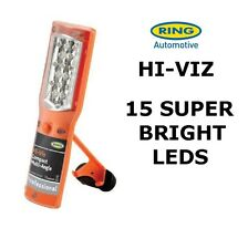 15 BRIGHT HI-VIZ LED RING Rechargeable Flexible Inspection Lamp RIL2550HV
