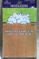 Boynton 8 Surprise Party Invitations Envelopes Don't Let The Cat Out Of The Bag