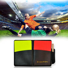 Football Referee Equipment Referee Wallet With Red Card And Yellow Card