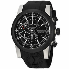 Momo Design Men's Composito Black Dial Black Rubber Strap Watch MD280TT-01BKBK