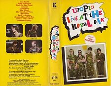 UTOPIA LIVE AT THE ROYAL OAK [Todd Rundgren] [VHS UK PAL] [NOT DVD]