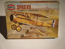 CLASSIC 1981 AIRFIX 1/72sc WW I French Ace's SPAD VII Fighter  Model Kit