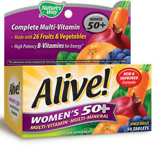 Alive! Women's 50+ - 50 Tablets - Nature's Way