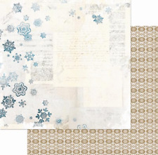 NEW BO BUNNY WOODLAND WINTER  2CT 12X12 DOUBLE SIDED PAPER