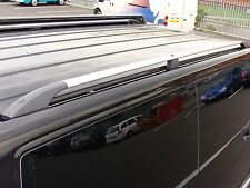 Vauxhall Vivaro Lwb 01-14 Aluminium Roof Bars Luggage Rack Roof Rails In Box