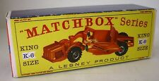 Repro Box Matchbox King Size K- 6 Earth Scraper