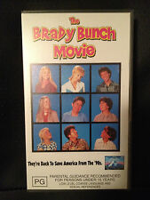 THE BRADY BUNCH MOVIE ~ GARY COLE, SHELLEY LONG ~ AS NEW VHS VIDEO