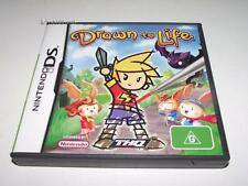Drawn To Life Nintendo DS 3DS Game Preloved *Complete*