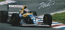 Alain Prost Williams Original Hand Signed Photo 12x8 With COA