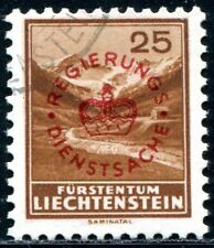 LIECHTENSTEIN DIENST 1934 15a gestempelt 120€(J8445