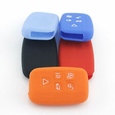Car Remote FOB Key Silicone Case Cover For Land Rover Freelander2 Discovery 4