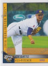 2016 Burlington Bees Joe Gatto RC Rookie Angels Minor