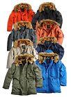 Alpha Industries Herren Polar Jacket Jacke Winterjacke Parka Mantel Blouson Neu