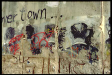 472059 Preserved Piece Of Berlin Wall Germany A4 Photo Print