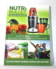 NutriBullet Recipe Book and User Guide Brand New Replacement