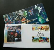 Visit Malaysia Year 2007 Birds Marine Coral Tourism Fish Mosque Fireworks (FDC)