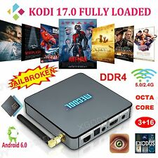 XGODY 3+16G DDR4 Android 6.0 Octa Core KODI 17.0 Loaded TV BOX Media Player Wifi