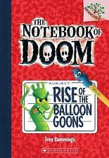 The Notebook of Doom: Rise of the Balloon Goons 1 by Troy Cummings  PaperbACK