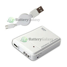 Portable Emergency Backup Battery Charger+USB Micro Cable for Android Cell Phone
