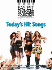 Easiest Keyboard Collection Todays Hit Songs Learn to Play EASY Piano Music Book
