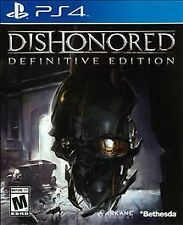 Dishonored Definitive Edition Download from Dishonored 2 Limited Edition (PS4)