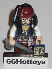 LEGO Pirates of the Caribbean 4182 Jack Sparrow Mini Figure NEW