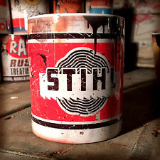 2x Stihl chainsaw oil can Gift Motorcycle Car Mechanic Gift 11oz Tea coffee mugs