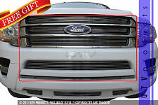 GTG 2015 - 2017 Ford Expedition 6PC Polished Billet Grille Grill Insert Kit