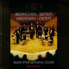 Beethoven: Septet; Hindemith: Octet (CD, Mar-1996, Nimbus) BRAND NEW