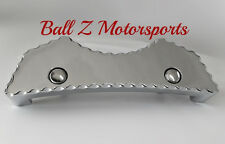 Hayabusa Smooth Ball Cut Chrome Gas Front Center Tank Pad Cover 99-07-08-14-15!!