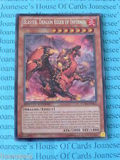 Yu-gi-oh Blaster, Dragon Ruler of Infernos CT10-EN002 Secret Rare Mint New
