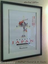 AMERICA WEST Airlines USAir Collectors 1989 Nagoya Japan VINTAGE POSTER + Video