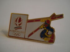PINS RARE FREESTYLE SKI ACROBATIQUE ALBERVILLE 92