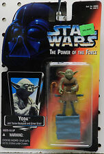 YODA JEDI BACKPACK GIMER STICK KENNER 1995 NEW ON CARD THE POWER FORCE STAR WARS