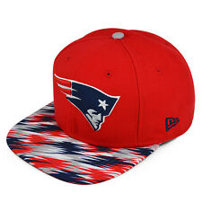 New England Patriots PRINT PLAY ABSTRACT SNAPBACK 9Fifty New Era NFL Hat