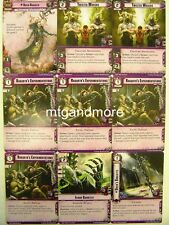 Warhammer 40000 Conquest LCG - Urien Rakarth + Squad - Descendants of Isha